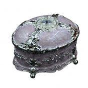 Luxury Jewelry Case Old Fashion Purple Jewelry Box Storage Case – KE-BEA11062801-KEYBE01501