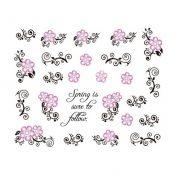 5Pcs Beautiful Flowers Pattern Nail Art Tips Decoration Sticker, BLE2006 – KE-BEA11063481-AMANDA03102