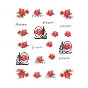 5Pcs Beautiful Flowers Pattern Nail Art Tips Decoration Sticker, BLE2031 – KE-BEA11063481-AMANDA03112