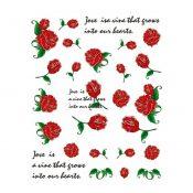 5Pcs Beautiful Flowers Pattern Nail Art Tips Decoration Sticker, BLE2009 – KE-BEA11063481-AMANDA03117