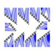 10Pcs Beautiful Nail Art Tips Decoration Sticker For Ladies, No.7 – KE-BEA11063481-AMANDA03129