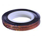 10Pcs Rolls Striping Tape Line Nail Art Tips Decoration Sticker, Bright Coffee – KE-BEA11063481-AMANDA03154
