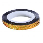 10Pcs Rolls Striping Tape Line Nail Art Tips Decoration Sticker, Bright Gold – KE-BEA11063481-AMANDA03157
