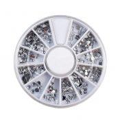3D Design Nail Art Different DIY Nail Art Diamond Stud Wheel Manicure, A – KE-BEA11063481-JELLY03010