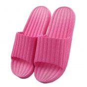 Indoor Cozy Bathroom Non-slip Slippers House Slipper For Womens, Rose Red – KE-BEA11063681-AMANDA07090