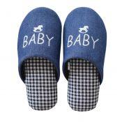 Family Winter Warm & Cozy  Indoor Shoes Child Cartoon House Slipper, H – KE-BEA11063681-JELLY04981