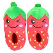 Cartoon Fruit Baby Indoor Slippers Warm Cozy Fashion Slipper Gift Strawberry – KE-BEA11063681-NICOLE01912