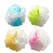 4 PCS Elegant Bath Ball Bath Sponge Scrubber Bath Mesh, Random Color – KE-BEA11149327011-AMANDA02157