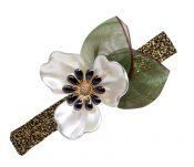 Silk Yarn Hairpin Clips Hair Pins Bow Hair Ornaments Headdress , 2 Pcs – PS-BEA11057981-LILY01458