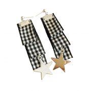 Elegant Long Style Earrings Individuality Drop Earrings BLACK, 1 pair – PS-BEA11058011-ALAN03644