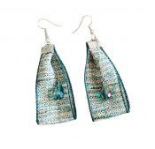 1 pair Flax Green Classical Easy Matching Earrings Fahsion Drop Earrings – PS-BEA11058011-ALAN03650