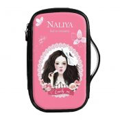 Fashion Waterproof Travel Makeup Case Cosmetic Bag Sundry/Toiletry, Lovely Girl – PS-BEA11062771-HERMINE00680