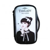 Fashion Waterproof Travel Makeup Case Cosmetic Bag Sundry/Toiletry, Bow Girl – PS-BEA11062771-HERMINE00682
