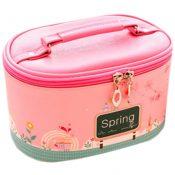 Lovely Cosmetics Receive Bag Bag Hand Bag Waterproof Makeup Box(Pink Spring) – PS-BEA11062771-MC00131
