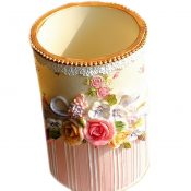 Rural Roses Painted Resin Makeup Brush With Receive Tube Style (Eight) – PS-BEA11062771-MC00242