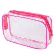 4 Pcs Waterproof Transparent  PVC Pouch Cosmetic Bag Wash Bag – PS-BEA11062771-VGRAM00919
