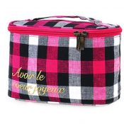 High Quality Cosmetic Storage Bag Grid Lines Jewelry Pouch – PS-BEA11062771-VGRAM00929