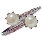 Manual Micro Ring Inlay Zircon Beads Ring Accessories 17mm Diameter(F) – PS-BEA13106071-MC00289