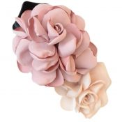 Mixed Colored Simulation Flower Rose Hair Clip Hairpin Headdress Flower(Pink) – PS-BEA3784391-DALISH00280