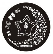 5 PCS DIY Little Star Style Nail Stamper Plate/Full Size Stamping Image Plates – PS-BEA3784911-KARY00772