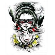 Fashion Cool Portrait Tattoos Body Tattoo Stickers Waterproof Temporary Tattoos – PS-BEA6344642011-JESSICA00268