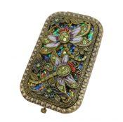 Vintage Travel Pocket Mirror Compact Handbag Mirror Mini Purse Makeup Mirror #16 – ST-BEA3785121-ERIC00079