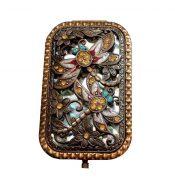 Vintage Travel Pocket Mirror Compact Handbag Mirror Mini Purse Makeup Mirror #17 – ST-BEA3785121-ERIC00080
