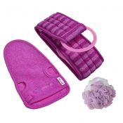 Exfoliating Gloves Dead Skin Cell Remover Set of 3 Meaningful Gifts for Women – EM-HEA11056511-GIYA02176