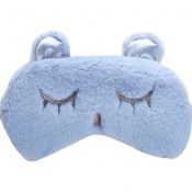 Home Soft Eye Mask Sleep Mask Travel Eye Cover, Grey – KE-HEA11056541-AMANDA05007