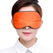 Adjustable Silk Eye Mask Sleep Mask Eye-shade Sleeping Relax Lens Hood Orange – KE-HEA11056541-AMY01659