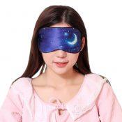 Silk Sleep Mask Breathable Eye Care Comfortable Sleep Mask Eye-shade Aid-sleeping, Starry Sky – KE-HEA11056541-TINY00695