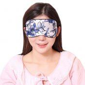 Silk Breathable Eye Care Comfortable Sleep Mask Eye-shade Aid-sleeping, Blue and White Porcelain – KE-HEA11056541-TINY00696