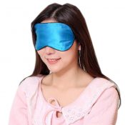 Silk Sleep Mask Breathable Eye Care Comfortable Sleep Mask Eye-shade Aid-sleeping, Sky Blue – KE-HEA11056541-TINY00702