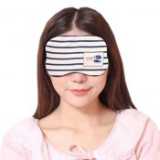 Cute Personality Shade Sleep Mask Adjustable Eye Cover Soft Sleep Mask, Milky White Stripes – KE-HEA11056541-TINY00712