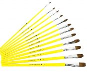 6 PCS Art Supplies Paint Brush Acrylic Paint Oil Painting (Singular Number)-02 – GJ-OFF12897431-FLORA00464