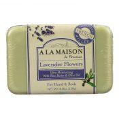 A La Maison – Bar Soap – Lavender Flowers – 8.8 oz – 0846071