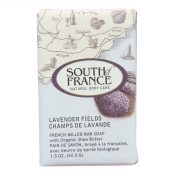 South of France Bar Soap – Lavender Fields – Travel – 1.5 oz – Case of 12 – 1706357