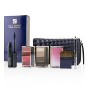 ESTEE LAUDER by Estee Lauder Travel In Color Makeup Palette (4x Eyeshadow, 4x Lipcolor, 1x Blush, 1x Mascara, 1x Eye Pencil, 1x bag) — – 316694