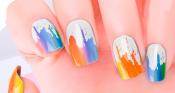 Paint Drip Nail Wraps – 430