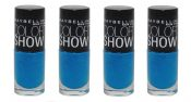 Maybelline Color Show Nail Polish, 990 Azure Seas Choose Your Pack – Pack of 4 – hs1214oz6x4_41554338546
