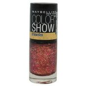 New Maybelline Color Show Brocades Nail Polish – 775 Crushed Crimson – hs53oz1.3×1-041554405460