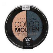 Maybelline Eye Studio Color Molten Cream Eye Shadow, Teal Twist 307 – hs2256oz0.7×1-041554436051
