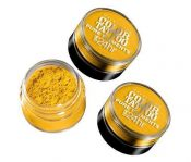 Lot of 3 – Maybelline Color Tattoo ~ 24 Hour Pure Pigments – Wild Gold #25 – hs1462oz0.9×3-041554334555