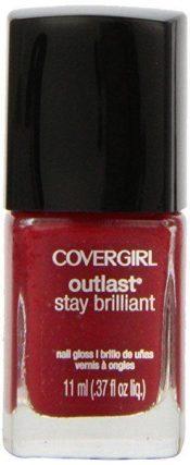Covergirl Outlast Stay Brilliant Nail Gloss, Lasting Love 180, 0.37 Ounce – hs1593oz2.0x1-00875213