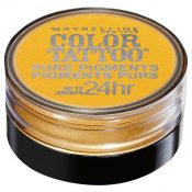 MAYBELLINE Color Tattoo 24 Hour Pure Pigments – WILD GOLD #25 – hs1462oz0.3×1-041554334555