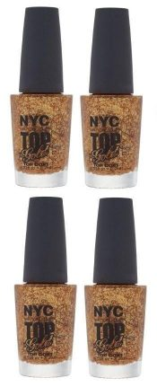 LOT OF 4 – N.Y.C. New York Color Minute Nail Enamel, Top of the gold – hs2408oz8.8×4-074170415902