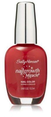 New Store Pull Sally Hansen Nail Growth Miracle 330 Stunning Scarlet Nail Polish – hs2280oz2.1×1-074170368727