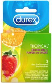 Durex Tropical 3 Pack Latex Condoms – R90