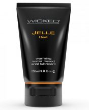 Wicked Jelle Warming Anal Gel Lubricant 4oz Tube – TCN-WS2297