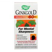 Nature's Way Ginkgold – 60 mg – 50 Tablets – 0435743